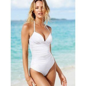 Victoria's Secre The Angel  White Bathing Suit
